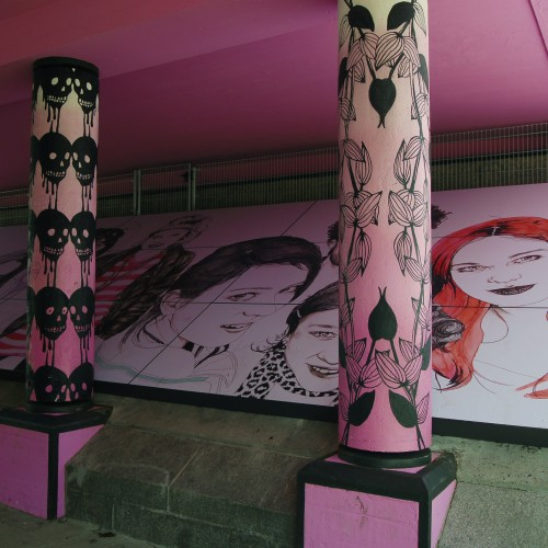 Graffitibriljant portretten credits Rick Messemaker HR