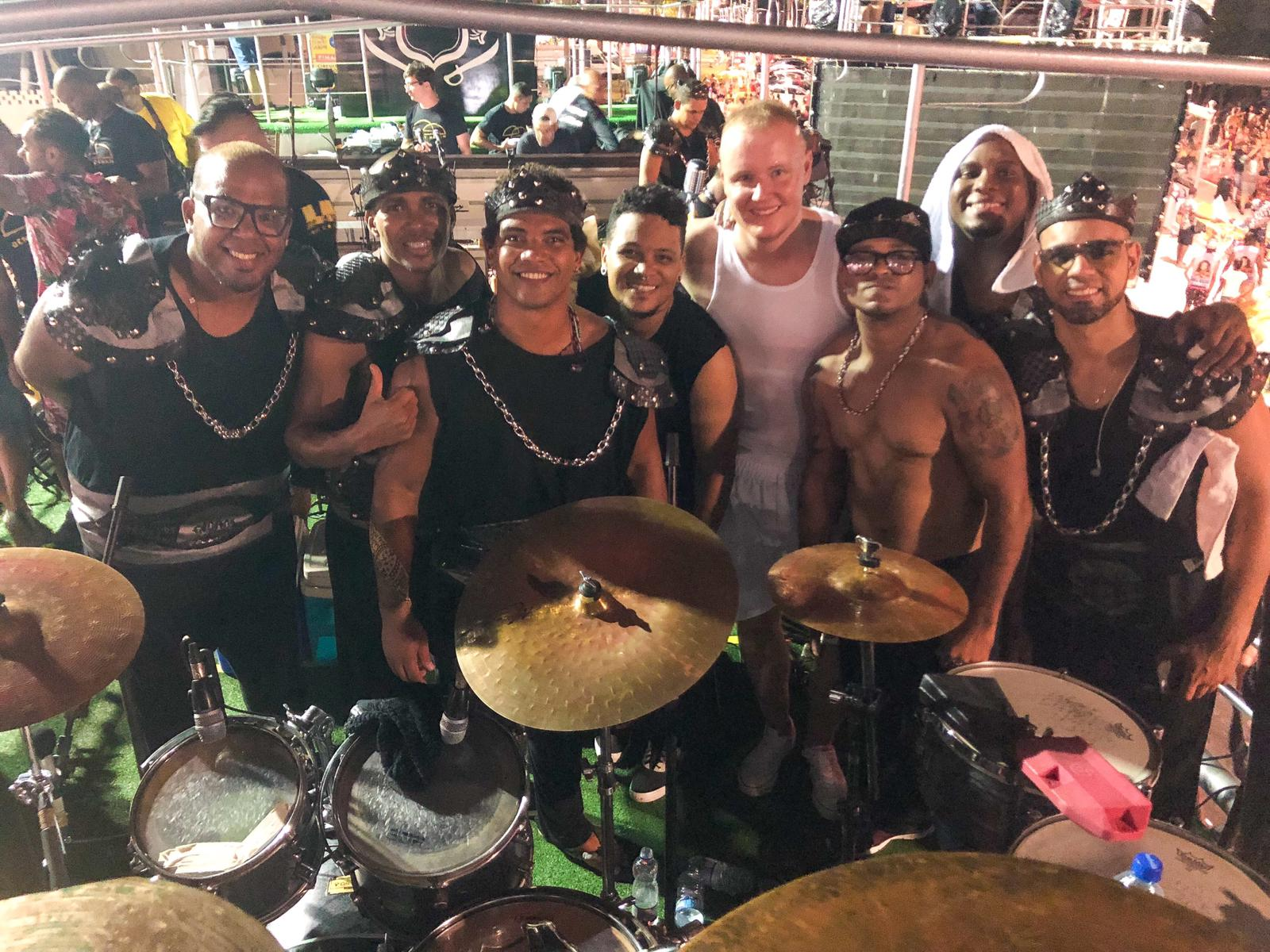 Rotterdam native performs for millions at world famous Brazilian carnival
