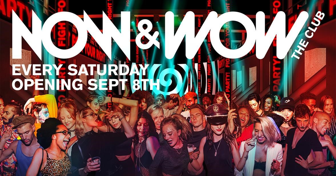 Legendary nightclub Now&Wow returns to Rotterdam