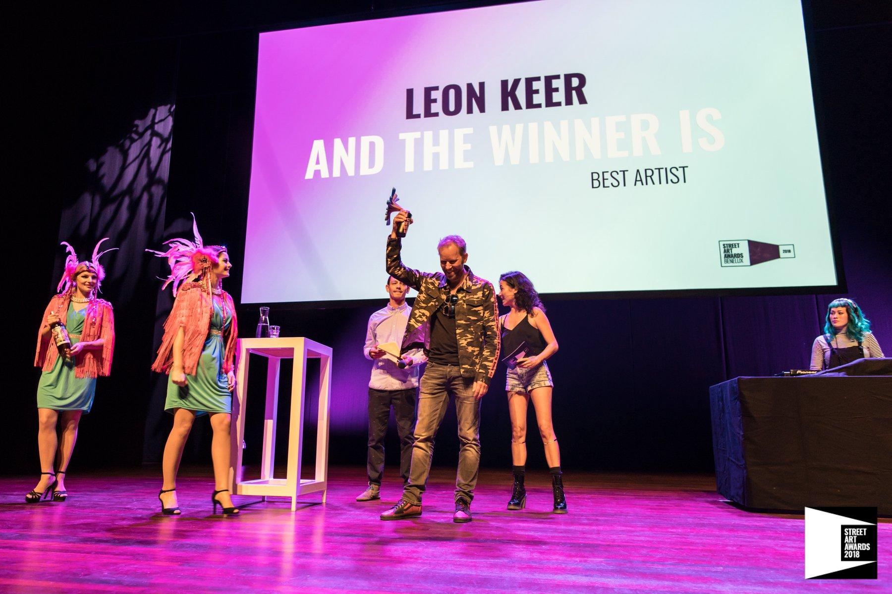 Winners Street Art Awards Benelux 2018